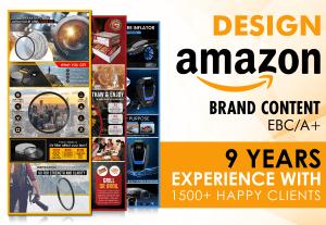 127Create Amazon Enhanced Brand Content