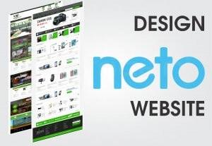 740I will design amazing neto website
