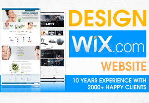 989Design a professional Wix website for your business